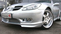 New Kleemann aerodynamic components for Mercedes-Benz SLK