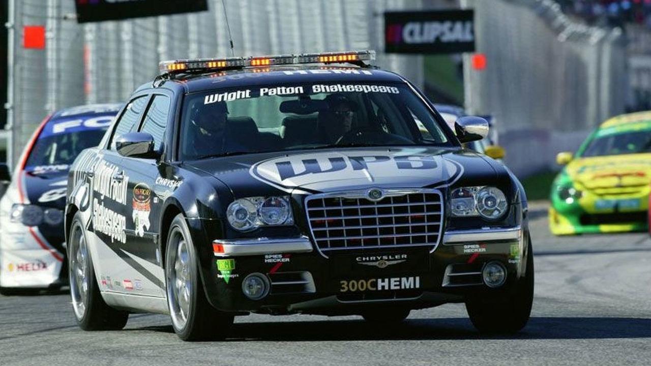 Chrsyler 300c as Pace Car for V8 Supercars