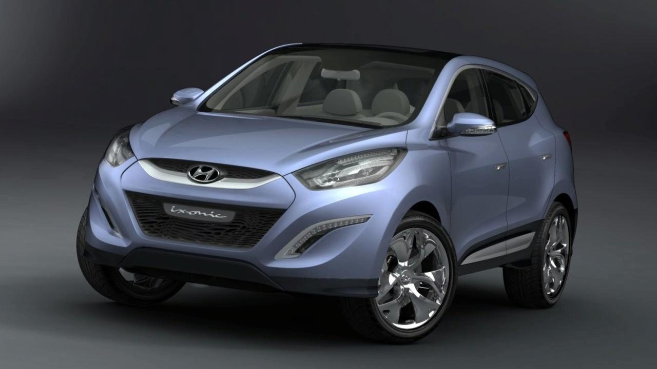 Hyundai HED-6 ix-ONIC Concept - hi res