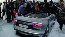 Audi e-tron Spyder in California [video]