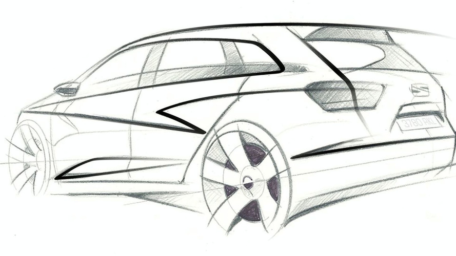 Seat Ibiza ST Concept: First Sketch Released