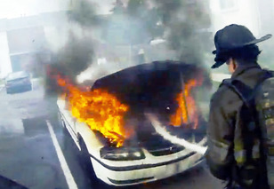 A Year In the Life of a Firefighter, Through a Helmet Cam