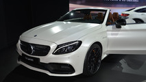 2017 Mercedes-AMG C63 Cabriolet live at New York Auto Show 2016