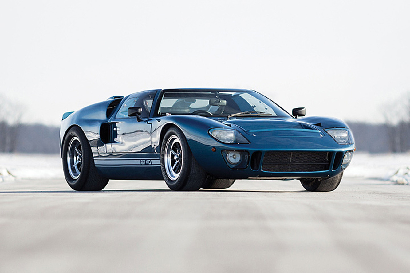 This Ford GT40 Kept the Breed Alive into the '90s