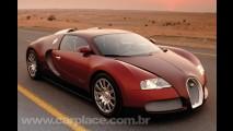 Bugatti Veyron 2009 com motor de 1.350 cv deve ser mostrado em Genebra