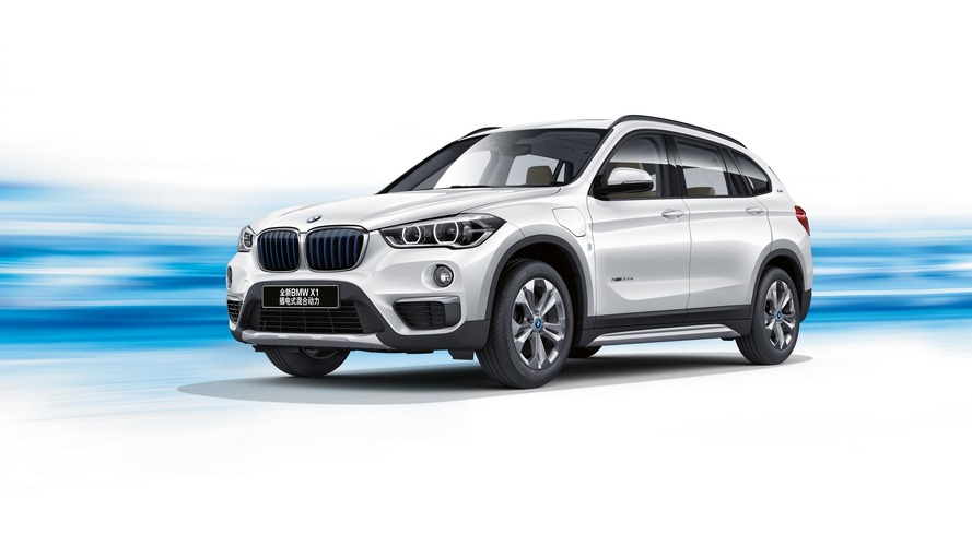 China-only BMW X1 plug-in hybrid debuts with 37-mile electric range