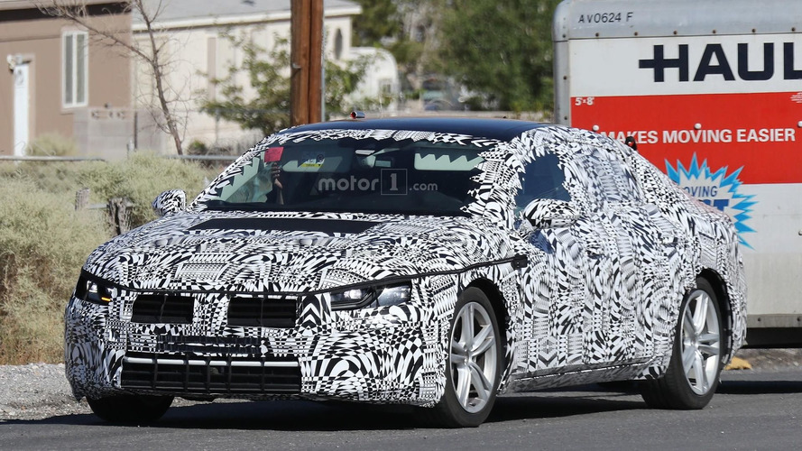 2018 Volkswagen CC spy photos