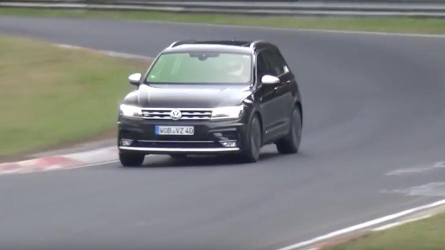 VIDÉO - Volkswagen Tiguan, une version sport surprise sur le Nürburgring