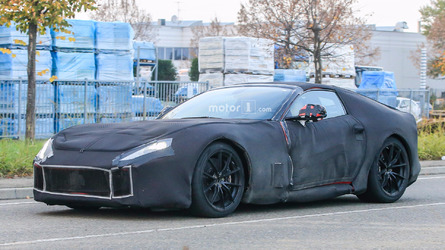 Ferrari F12 M spied trying to hide its beautiful lines