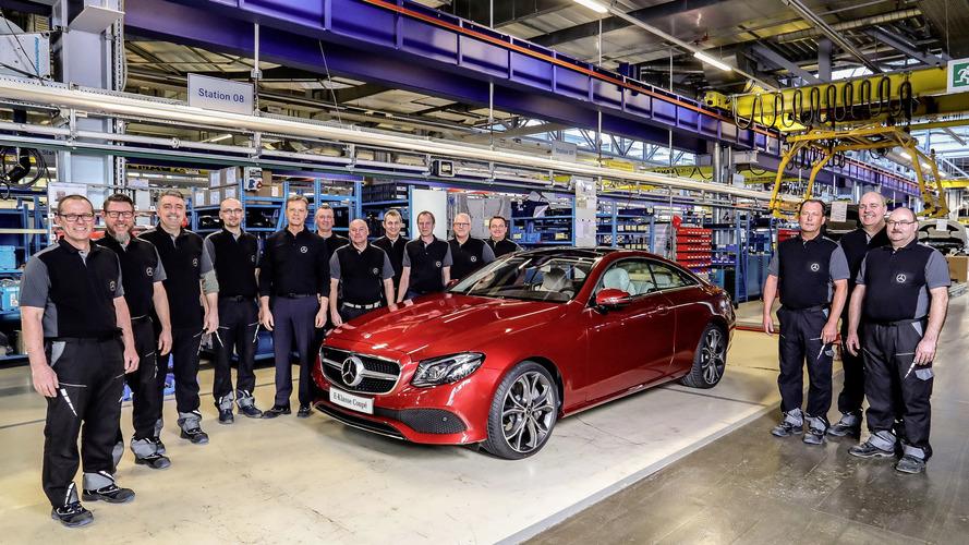 Mercedes - La production de la Classe E Coupé vient de commencer