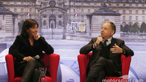 Anne Hidalgo, mayor of Paris; Jean Todt, FIA president