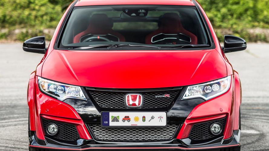 Honda to offer emoji license plates in the UK