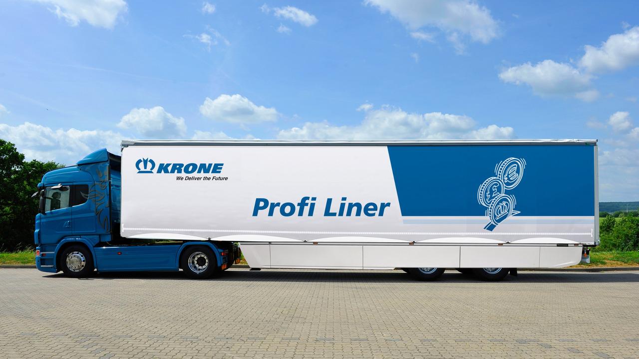Krone Safeliner semi-trailer protection