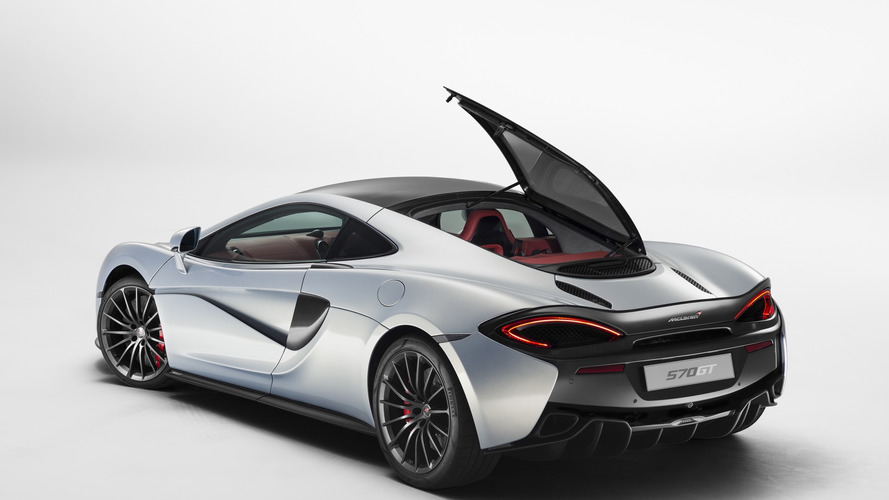 McLaren 570GT comes with additional trunk to Geneva [video]