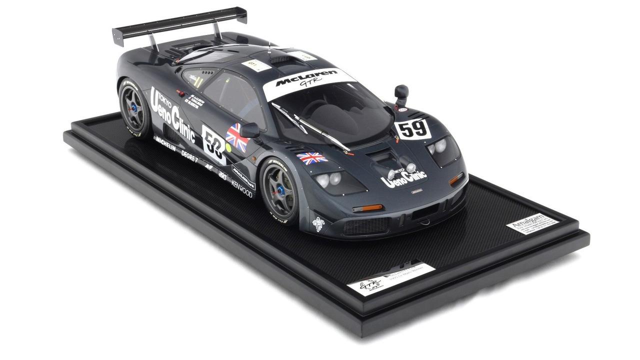 1995 McLaren F1 GTR from Le Mans 1:8 scale model