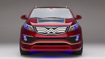 Kia Sportage Wonder Woman 1024
