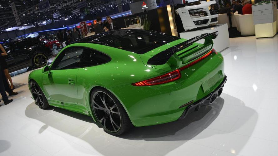 Porsche 911 Carrera 4S by TechArt storms into Geneva show