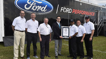 2017 Ford F-450 Super Duty sets Guinness World Record