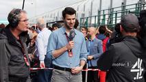 Steve Jones, Channel 4 F1 Presenter