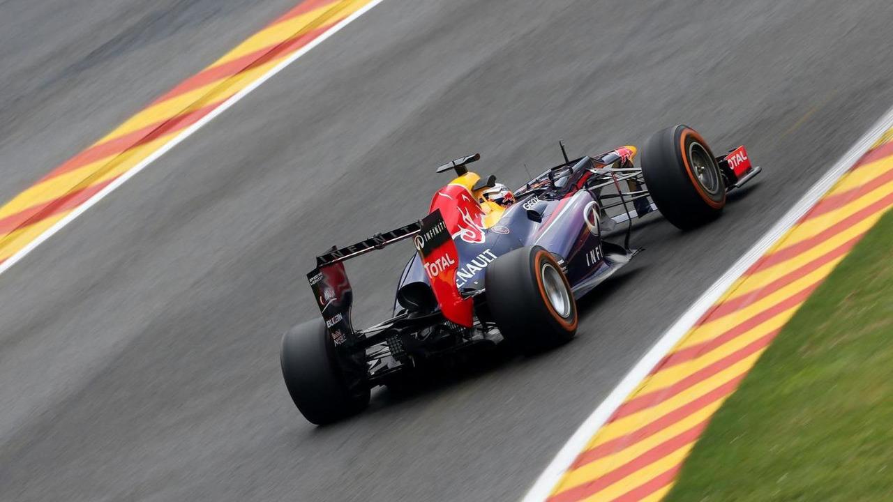 Sebastian Vettel (GER), Red Bull Racing 23.08.2013. Formula 1 World Championship, Rd 11, Belgian Grand Prix, Spa Francorchamps