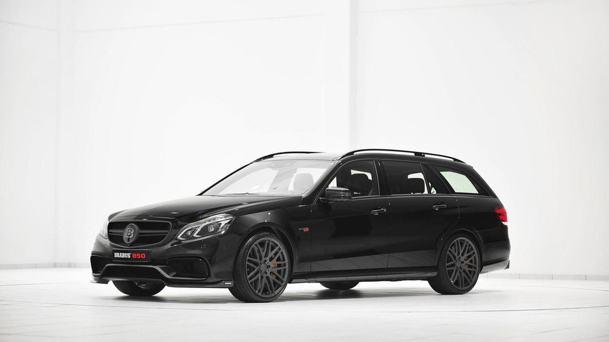 2014 Mercedes-Benz E63 AMG Wagon Brabus 850 6.0 Biturbo debuts at Essen Motor Show
