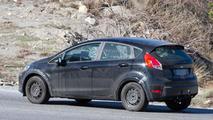 Mysterious Ford Fiesta spy photo