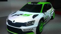 Skoda Fabia R5 concept races into Essen