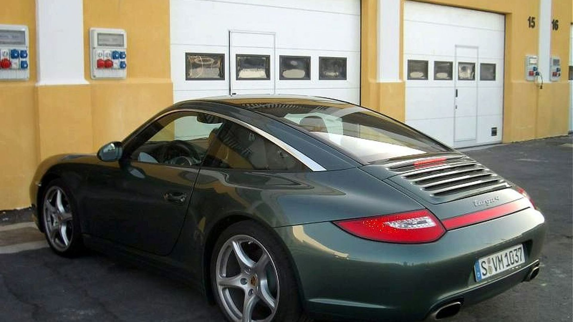 Porsche 997 Targa Facelift Caught Prior to Launch
