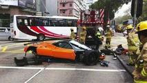 Pagani Zonda F crash in Hong Kong, 460, 26.01.2012