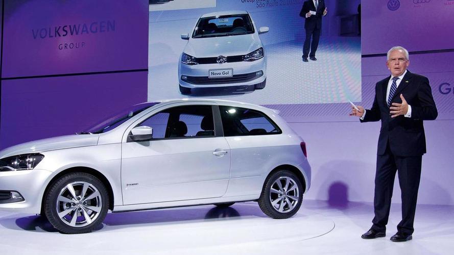 2013 Volkswagen Gol three-door introduced in Sao Paulo