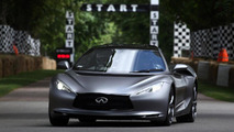 Infiniti EMERG-E prototype at Goodwood 02.7.2012