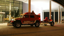 GeigerCars.de Builds the Christmas HUMMER H2