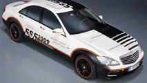 Mercedes ESF S400 Hybrid Concept 2009 - med res