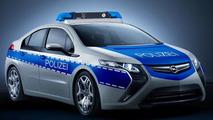 Opel Ampera police cruiser 15.02.2011