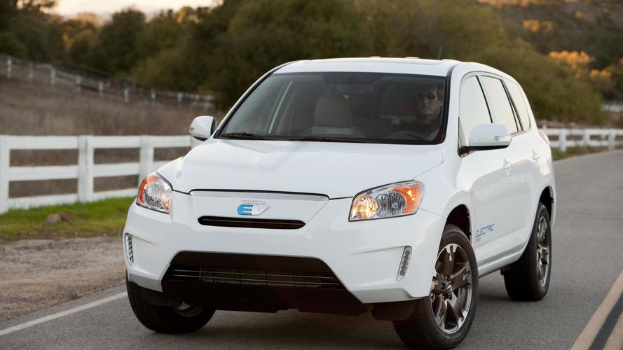 2012 Toyota RAV4 EV prototype debuts in L.A. [videos]
