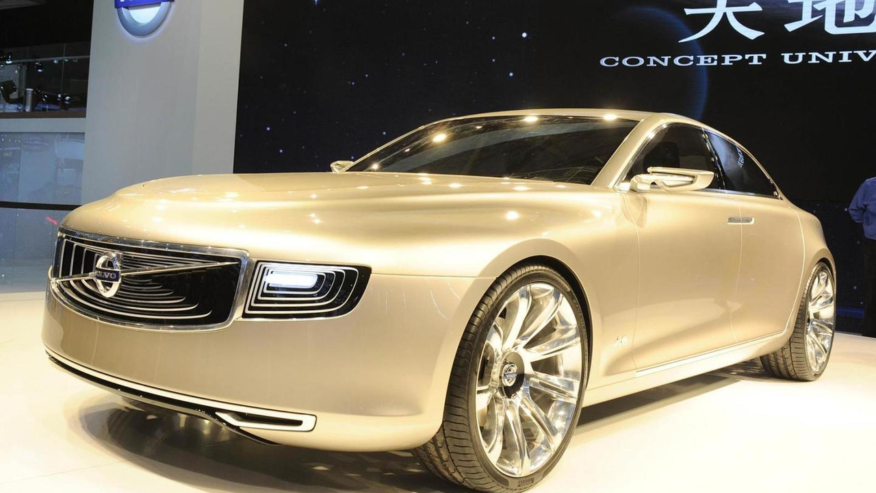 Volvo Concept Universe live in Shanghai