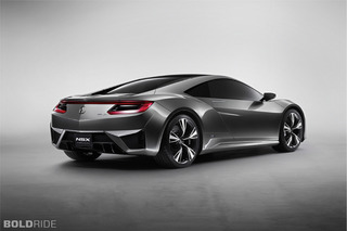 Future Ride: 2012 Acura NSX Concept