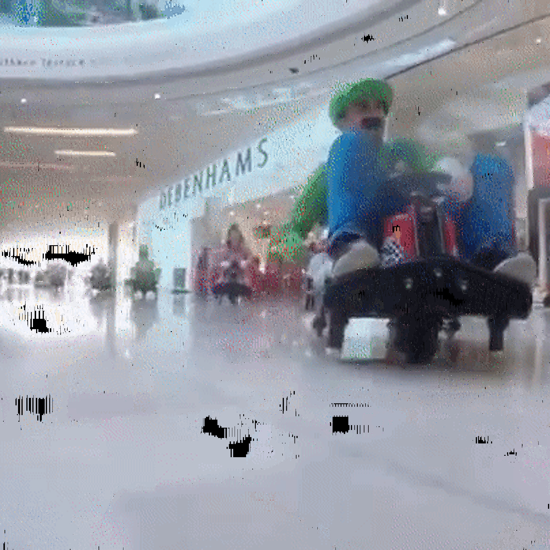 Watch Real-Life Mario Kart Take Place in a Mall