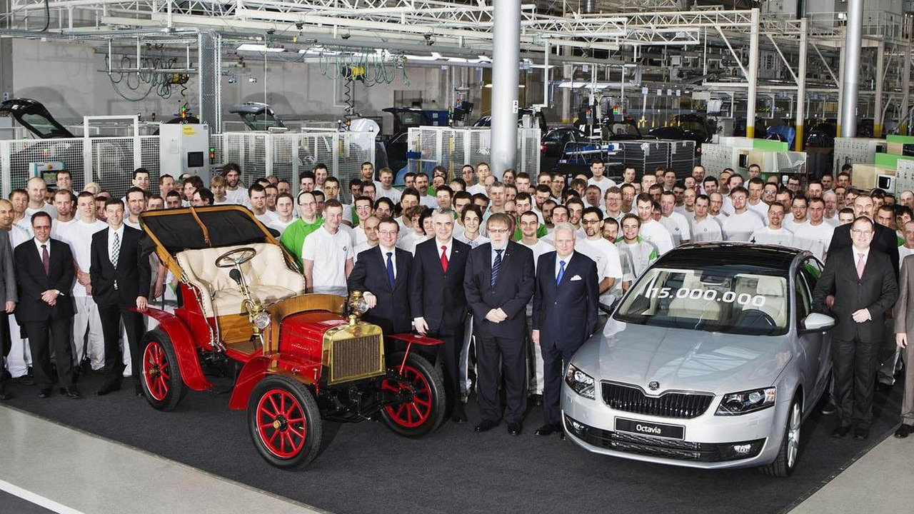 Skoda 15-millionth automobile celebration 08.2.2013