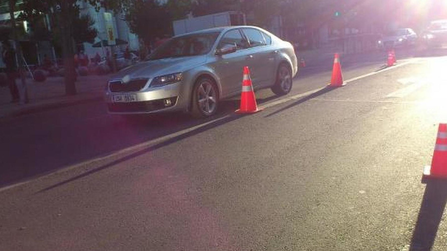 2013 Skoda Octavia photographed during commercial shoot