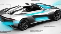 Rezvani Motors / RAD Beast aerodynamics