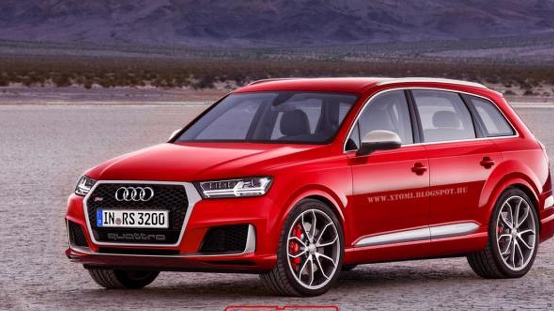 Audi RS Q7 digitally imagined