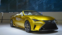 Lexus LF-C2 concept live in Los Angeles