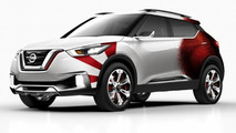 Nissan Kicks concept introduced with new livery