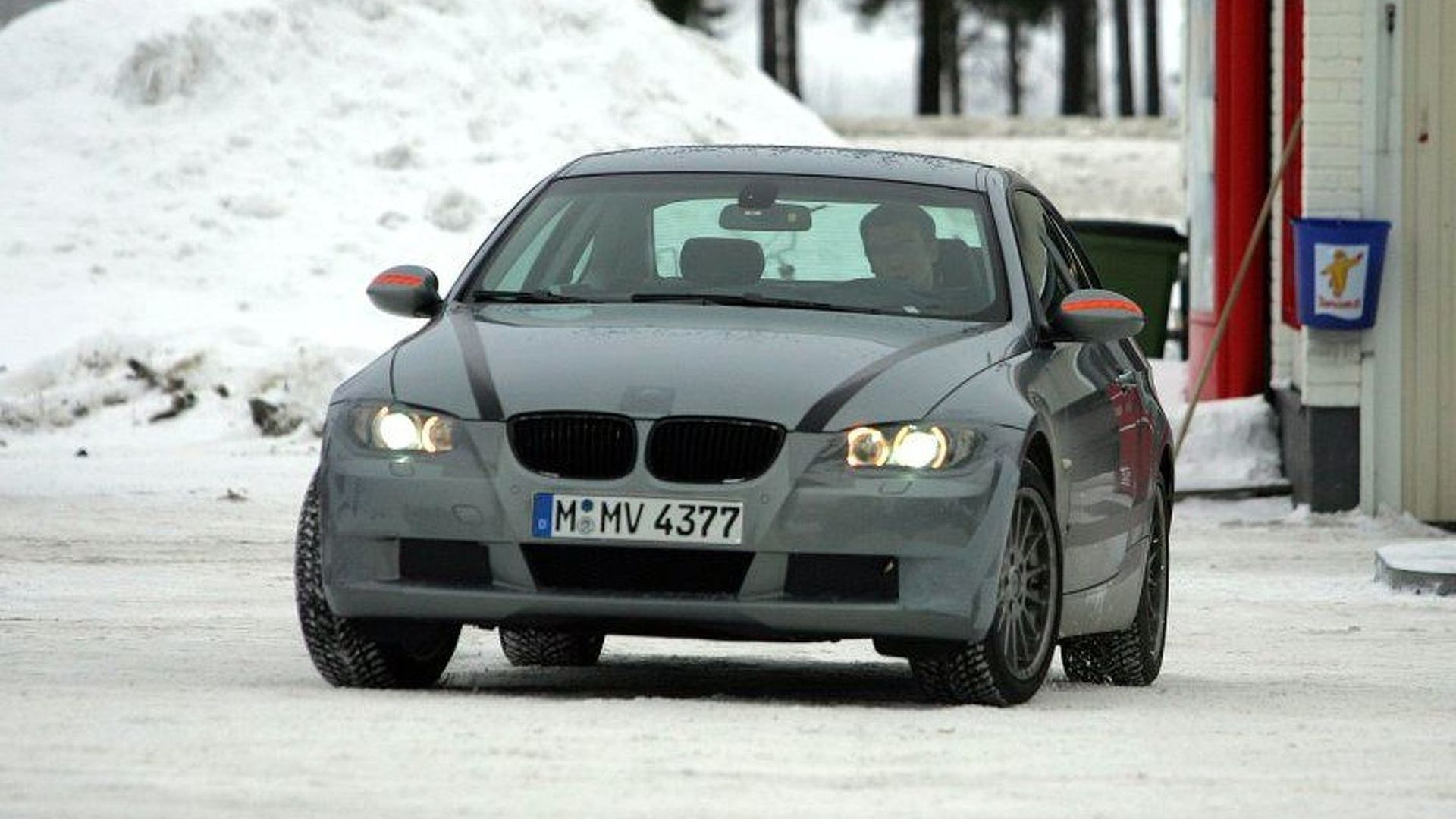 More BMW 3-Series Coupe Spy Photos