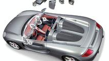 Carrera GT Bose loudspeaker distribution