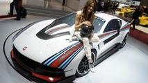 Pininfarina Cambiano Concept in race livery live in Geneva 06.03.2012