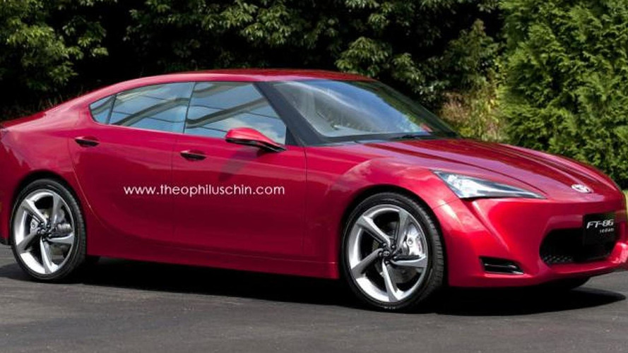 Toyota GT 86 sedan to use a turbocharged 2.0-liter engine, be launched in late 2016 - report