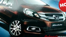 Honda Mobilio production version with Modulo Accessories Kit