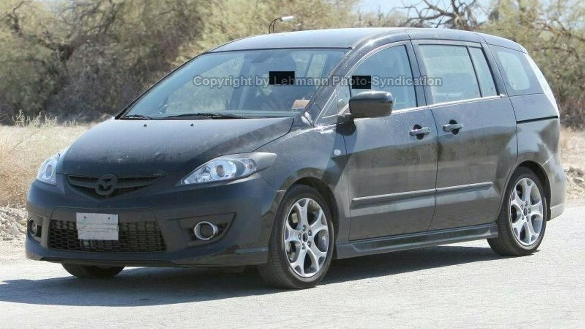 2008 Mazda5 Facelift First Look